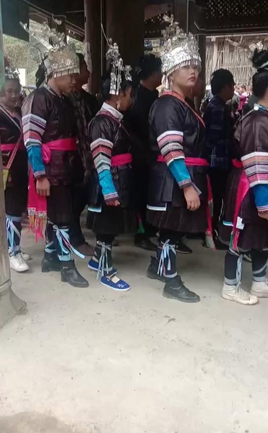 广西融水苗族姑娘