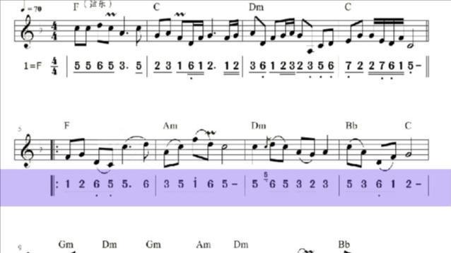 《我的祖国》原创简谱,郭兰英演唱 - 歌曲简谱 - 声乐谱 - 词...