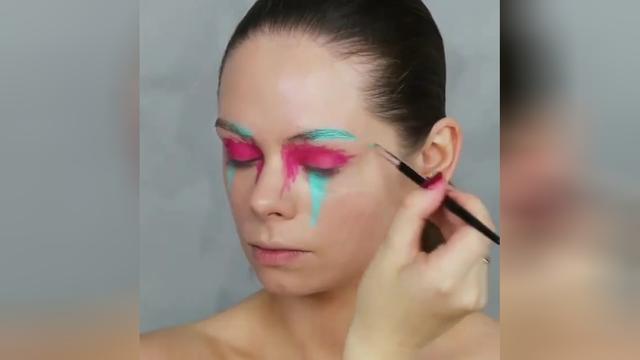 化妆卡通图片