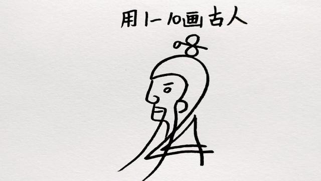 古代娘娘绘画画图片