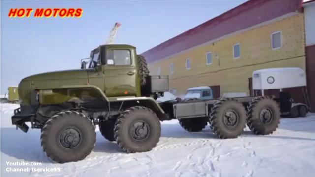 俄罗斯乌拉尔军用卡车