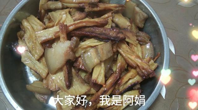 腐竹炒肉片图片