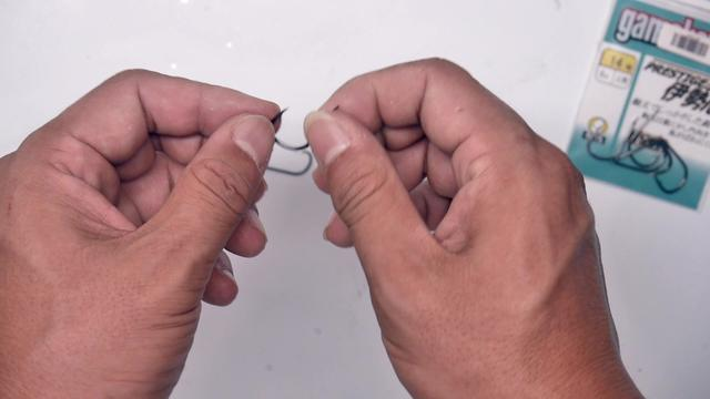 海夕鱼钩的大小相当于几号袖钩、新关东?(有数据对比)