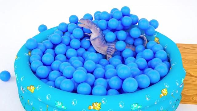 儿童玩具汽车大战海洋球,高空冲刺、急速突围
