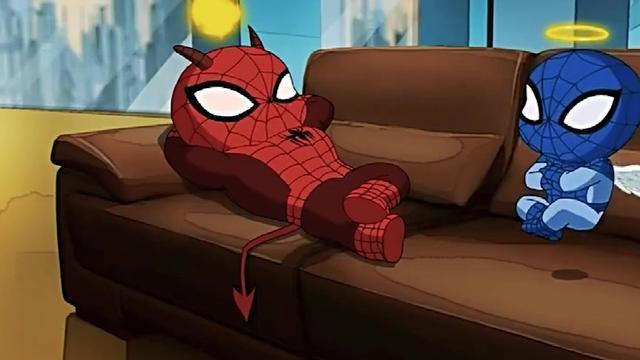 彼得帕克为了过上亿万富豪的生活,放弃了蜘蛛侠的身份