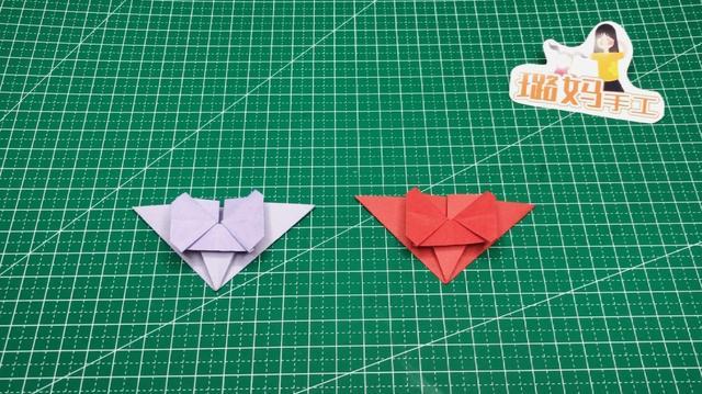 折纸蝴蝶结简单折法