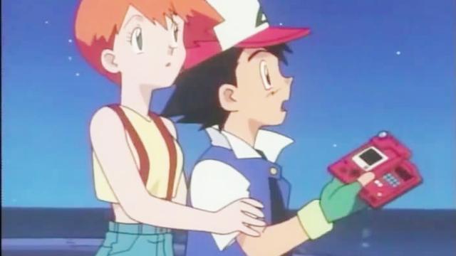 精灵宝可梦:看小霞和小智站一起真是好般配,你觉得像不像小情侣