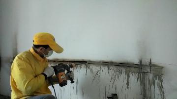 在墙壁开槽怎么开得快,用什么工具?