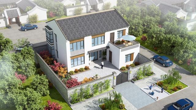 中式别墅设计图片大全