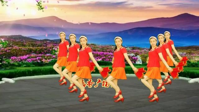 佳木斯玫瑰广场舞《郎对花姐对花》
