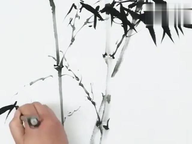 史上最给力的水墨竹子画法,你值得收藏!_手机网易网