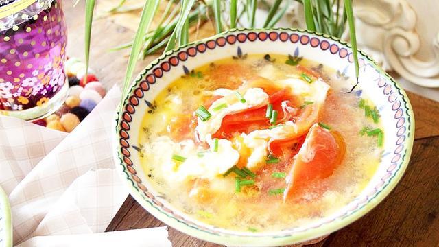 青菜蛋汤的做法