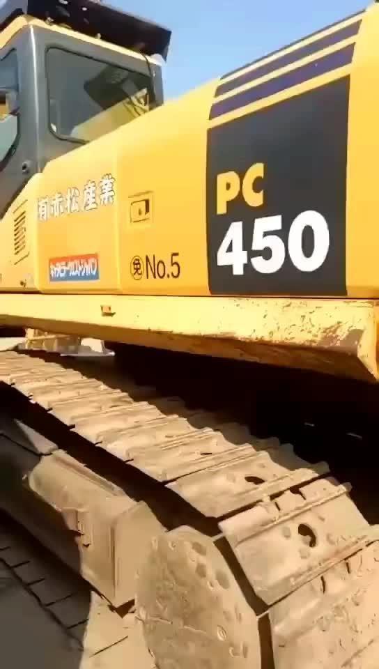 二手挖掘机小松450大型挖机低价出售_挖掘机_... _中国路面机械网