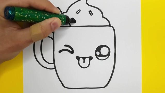 ...画教程分享简单的儿童画绘画过程,教小朋友学画画-露西学画画