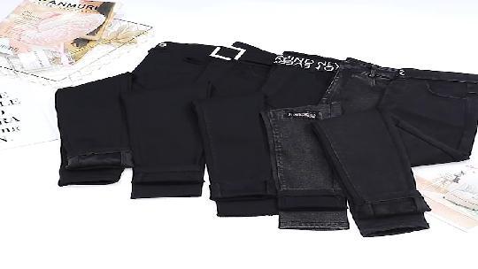 实拍加绒韩版打底裤女外穿高腰特厚铅笔裤紧身显瘦长裤