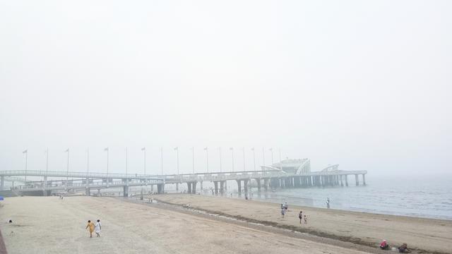 全国首座爱情步道--浪漫的烟台天马栈桥(原创)