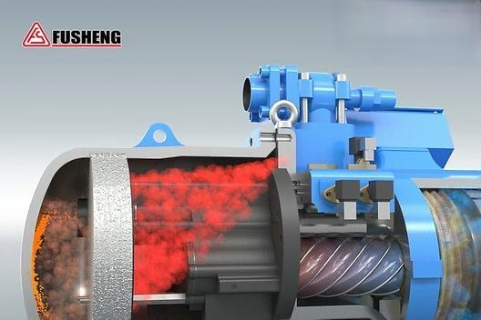 螺杆机压缩机的工作原理