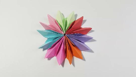 折纸王子 简单美丽四瓣花 讲解详细 一看就会