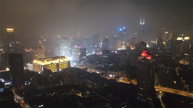 上海夜景图片竖屏