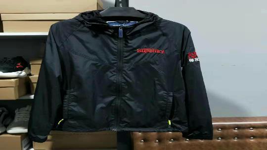 Superdry极度干燥男士防风夹克 修身外套