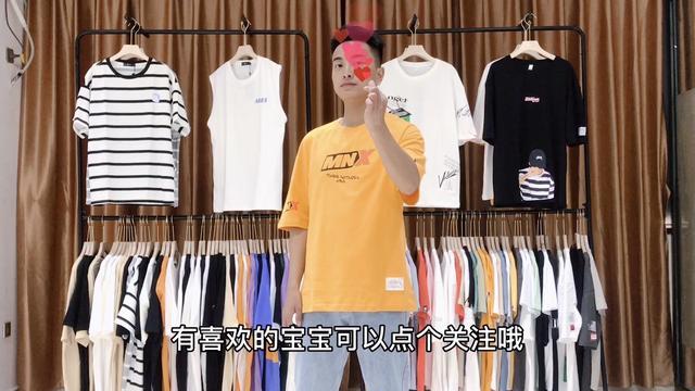 夏季男生T恤搭配穿出时尚休闲风,儿童T恤定制