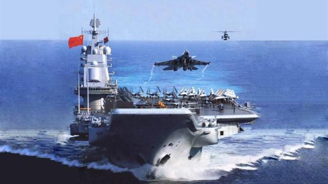 """中国下水怪异舰艇,有媒体认为是双船体航母,又或新型""""黑科技"""""""
