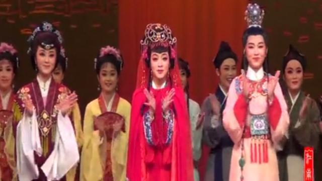浙江绍兴小百花越剧团–越剧《新龙凤锁》