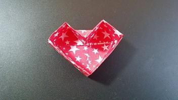 教你叠爱心纸盒子