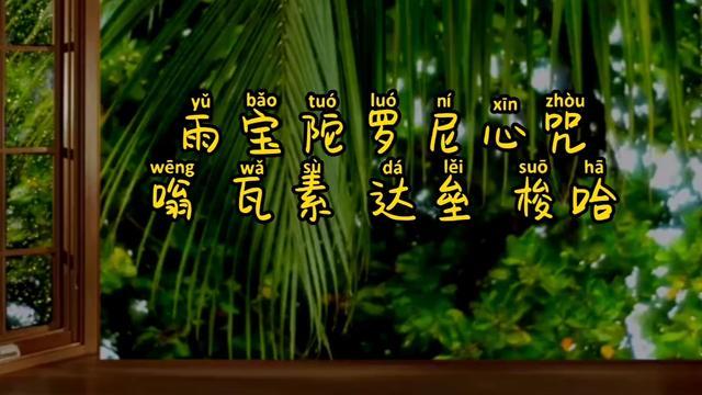 【视频】雨宝咒,求财感应不可思议_手机搜狐网