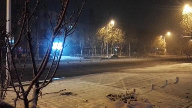 淄博张店夜景