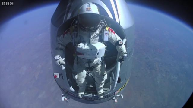 跳伞图片唯美