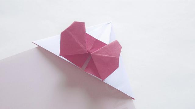 彩带蝴蝶结八种折法