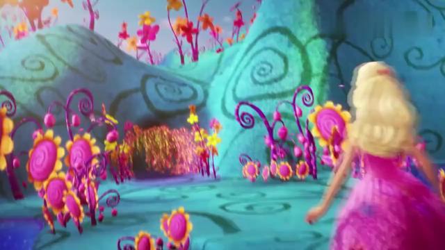 芭比大电影:公主成功打败巫师,把姐姐也救了回来,王后看呆了