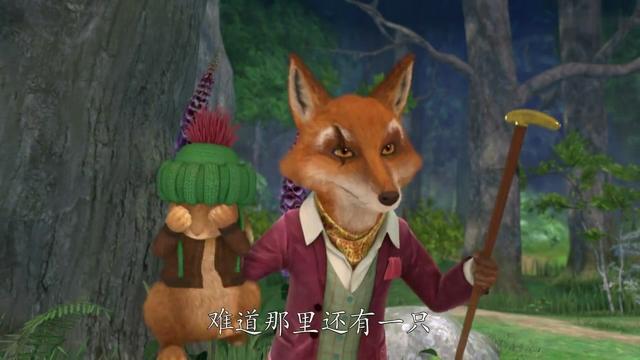 呆萌狐貍卡通頭像