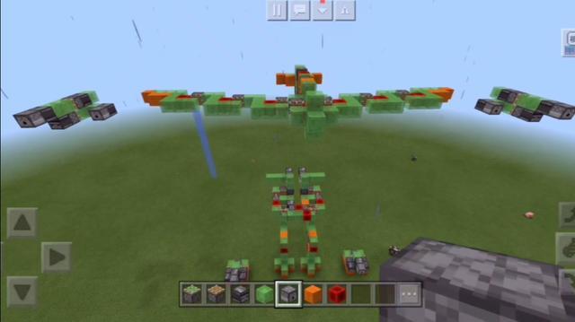 我的世界380飞机坠落