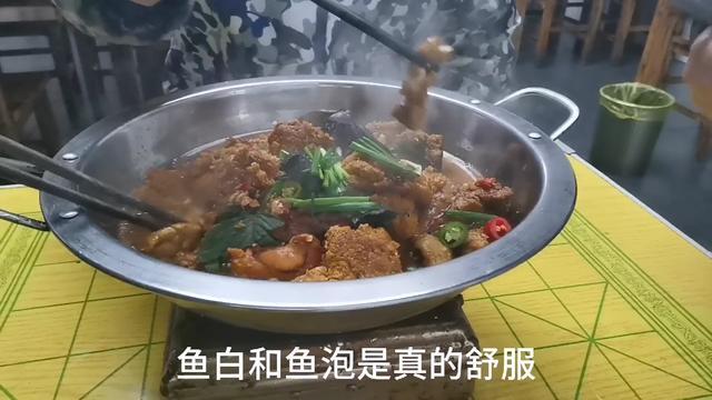 湘菜味道,干锅鱼杂,常德厨师把它做成火锅,寒冬天里的一道美味