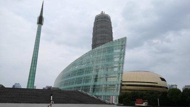 郑州大玉米建筑简笔画