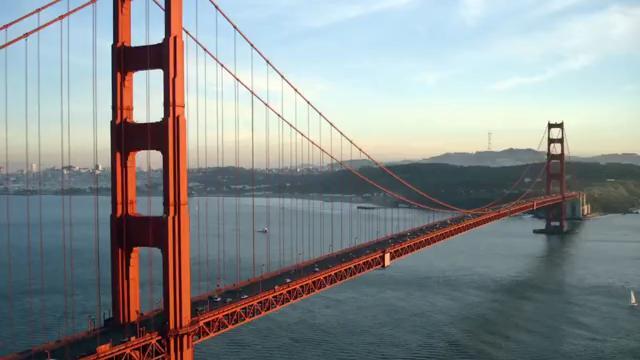 美国旧金山金门大桥图片 24张 (天堂图片网)