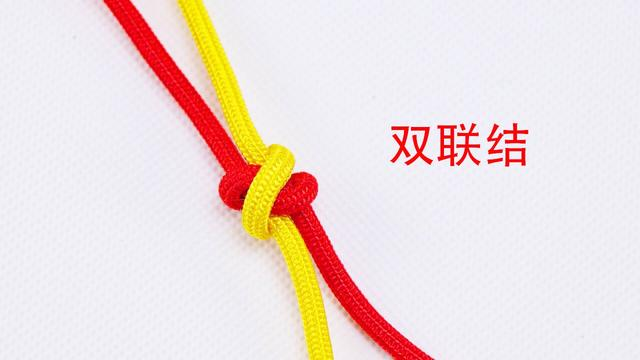 手工编绳教程,中国结中很简单的单线纽扣结编法,一分钟轻松学会