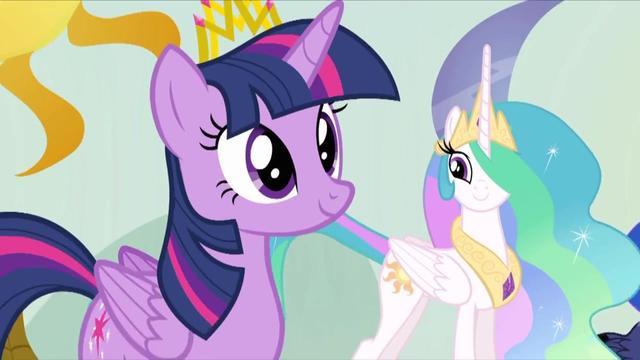 小马宝莉:紫悦成为了公主,宇宙公主举办欢迎会,紫悦是主角!