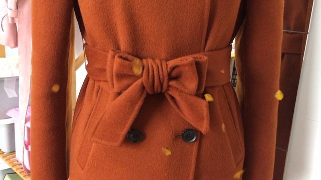 皮衣2根腰带系法