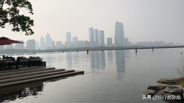 国家5A景点苏州金鸡湖景区