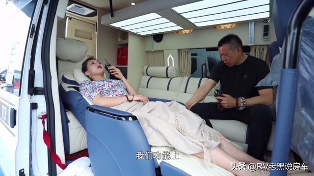 江铃福特逸途商旅车,一款可以睡觉的商务车