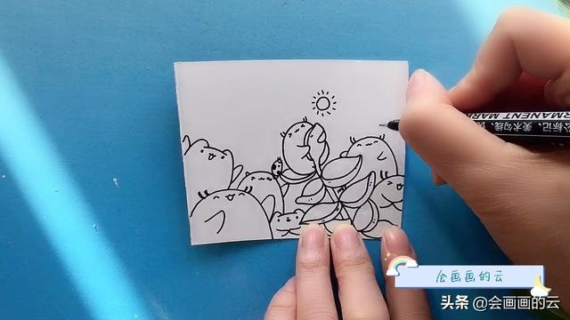 简笔画可爱卡通图片