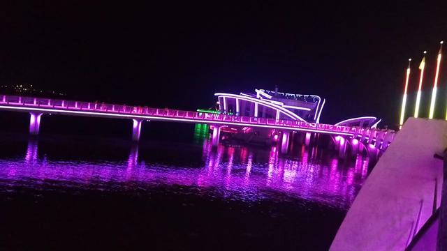 日出——烟台开发区天马栈桥