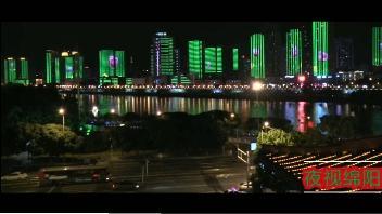 绵阳铁牛广场夜景图片