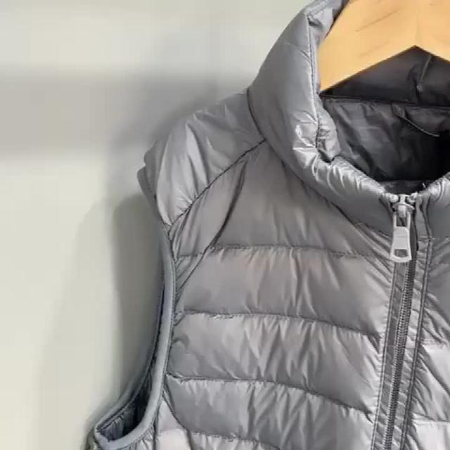 羽绒马甲,带来入冬的时尚造型