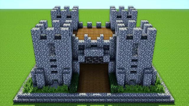 《我的世界》教你建造一座小城堡