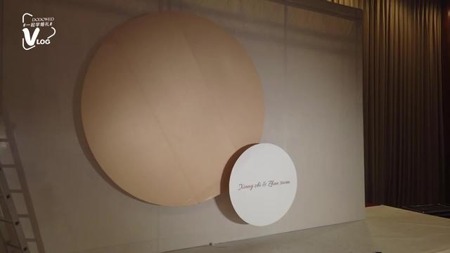 婚礼布置技巧之用KT板做弧形造型