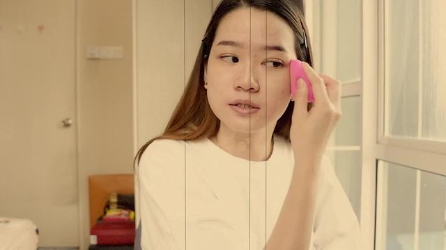 初学者淡妆化妆步骤图